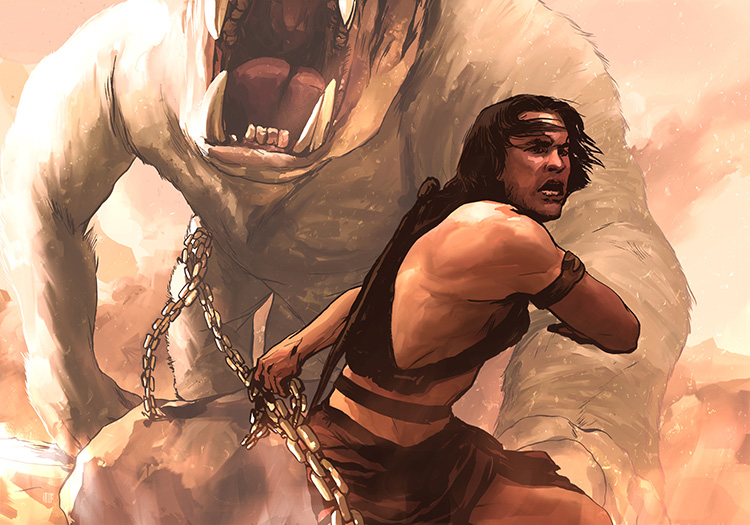 "John Carter - Illustration for the cinema review of Andrew Stanton's ""John Carter."""
