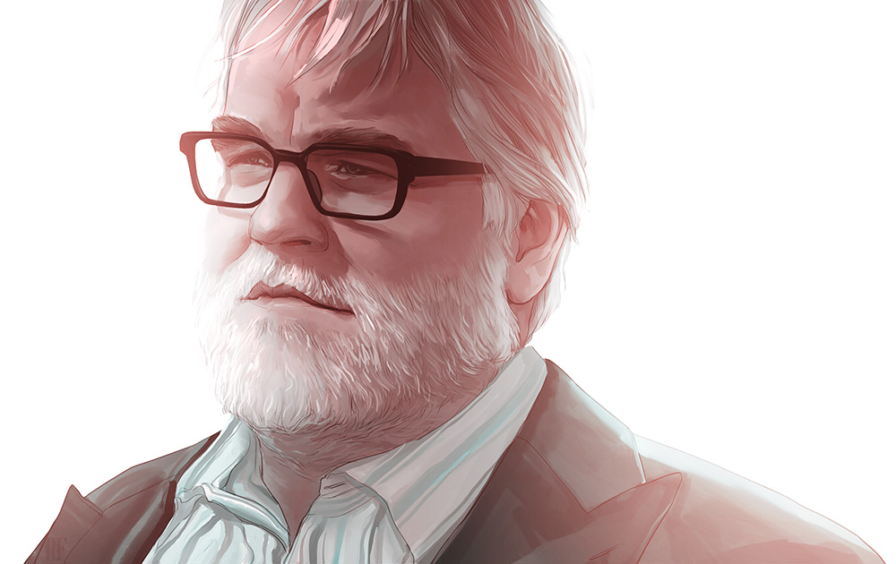 Philip Seymour Hoffman - Portrait of the late Phillip Seymour Hoffman.