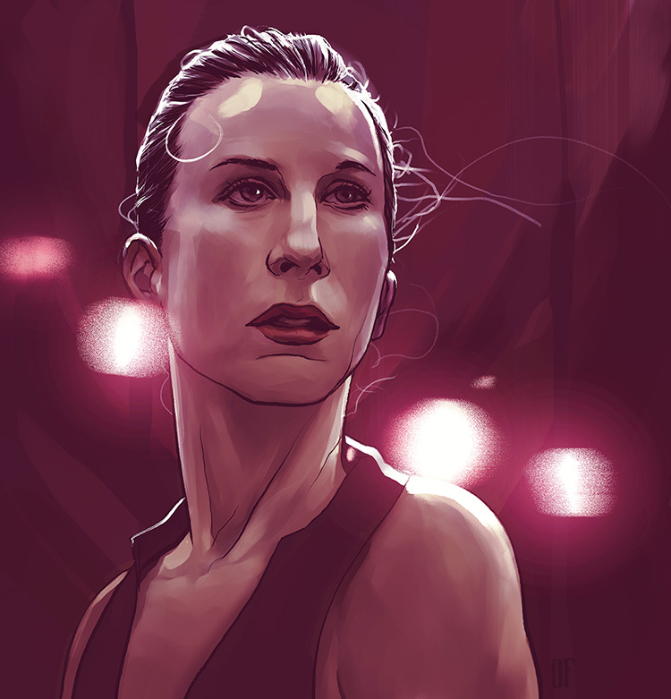 Wendy Whelan - Illustration for a the farewell ballet performance by Wendy Whelan.