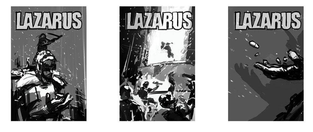 LAZARUS 20 Sketches
