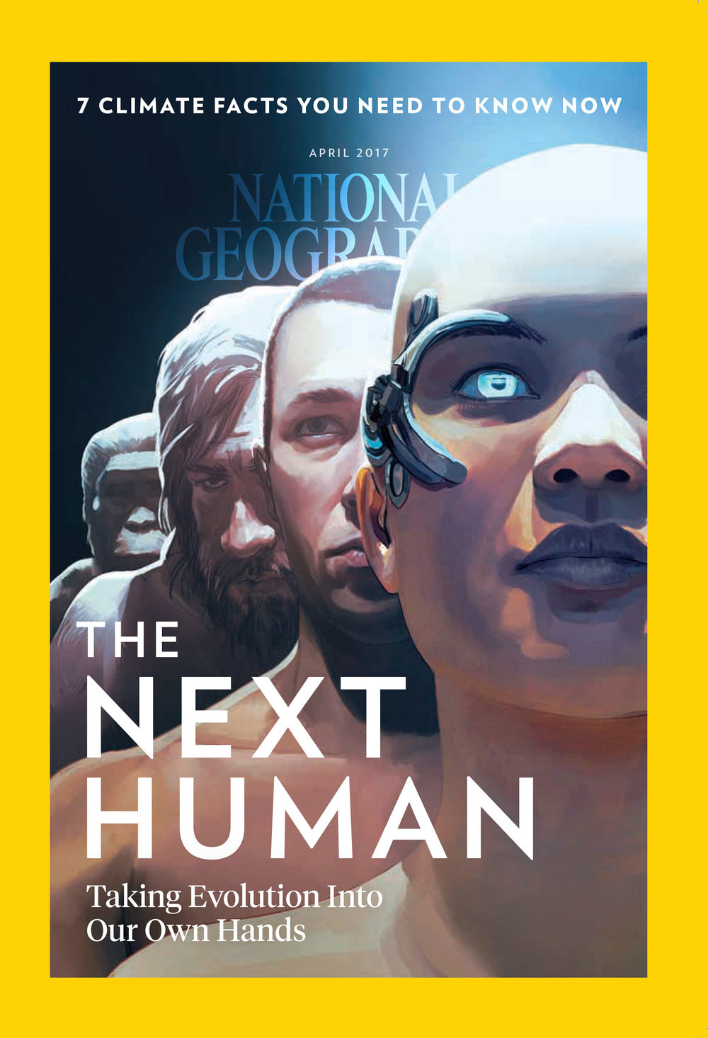 The Next Human, cover