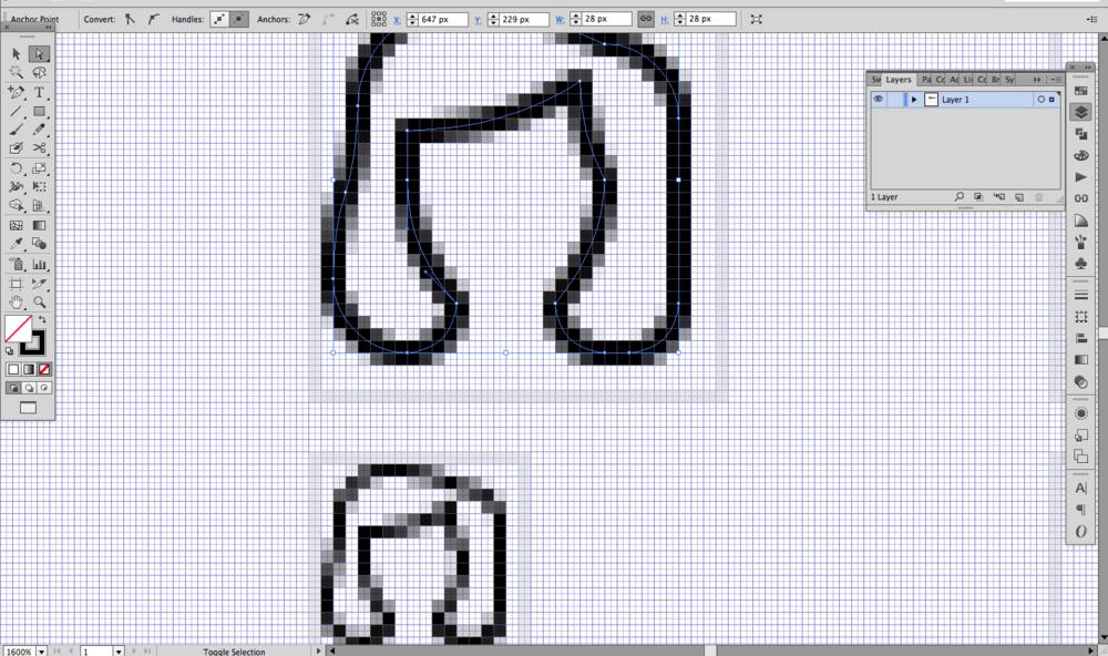 Pixel level