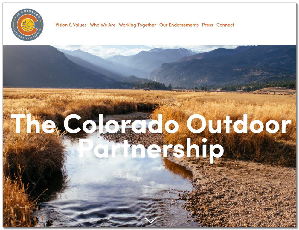 The Colorado Outdoor Partnership - A coalition of organizations protecting the interests of conservation and outdoor recreation related to land, water, and wildlife in Colorado.