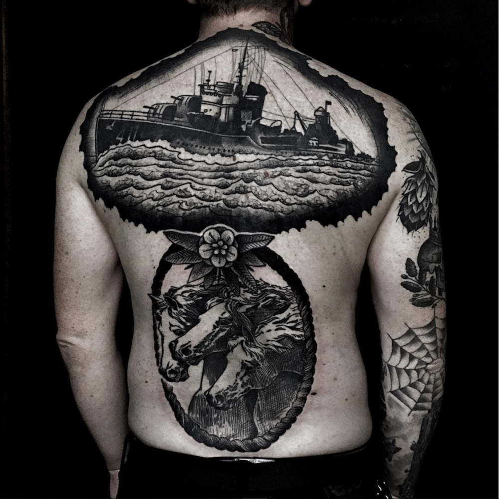 brian foster black work elizabeth st tattoo ship back pice.png