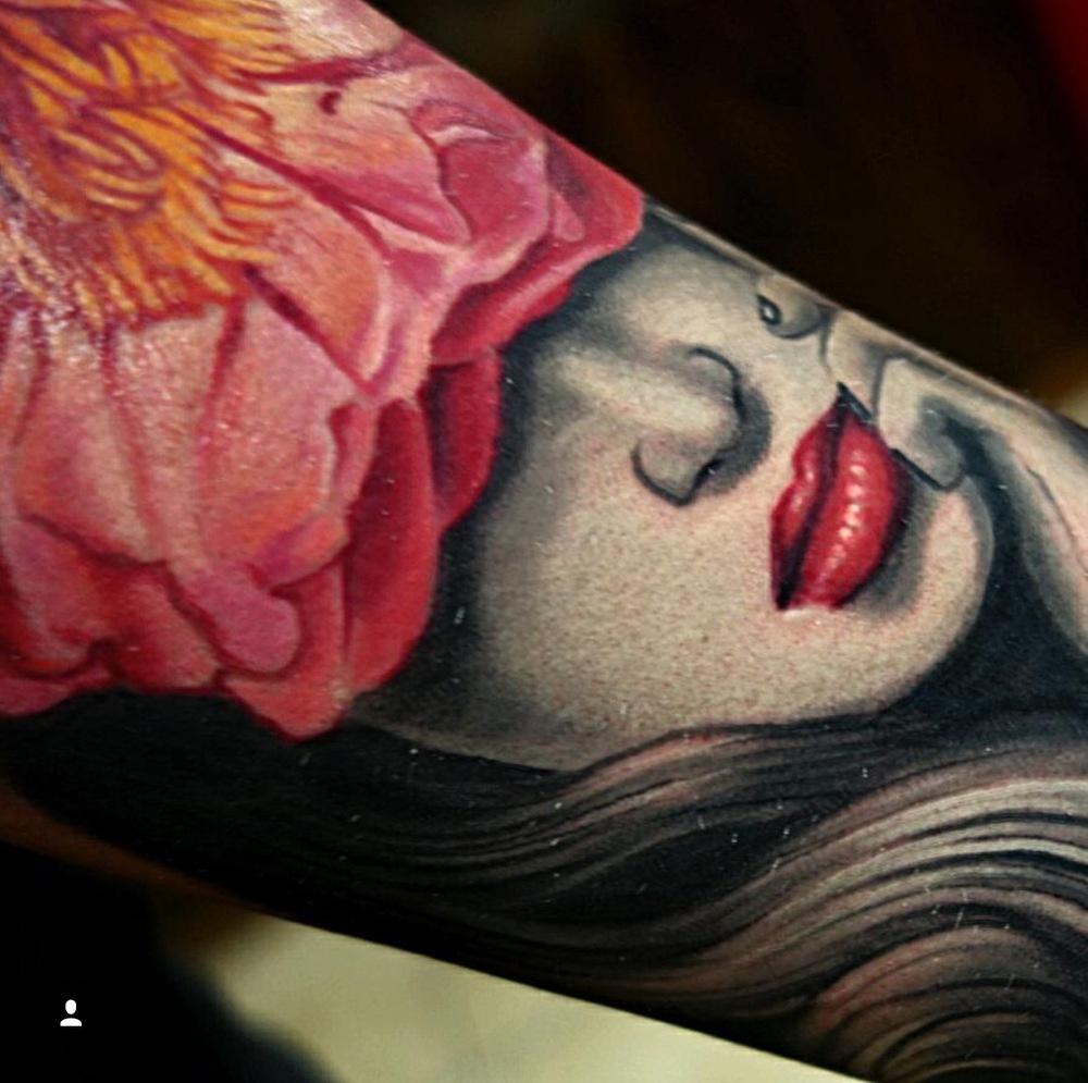 David Hamburg tattoo Elizabeth street tattoo realism women.JPG