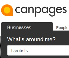 CanPages Dentists logo