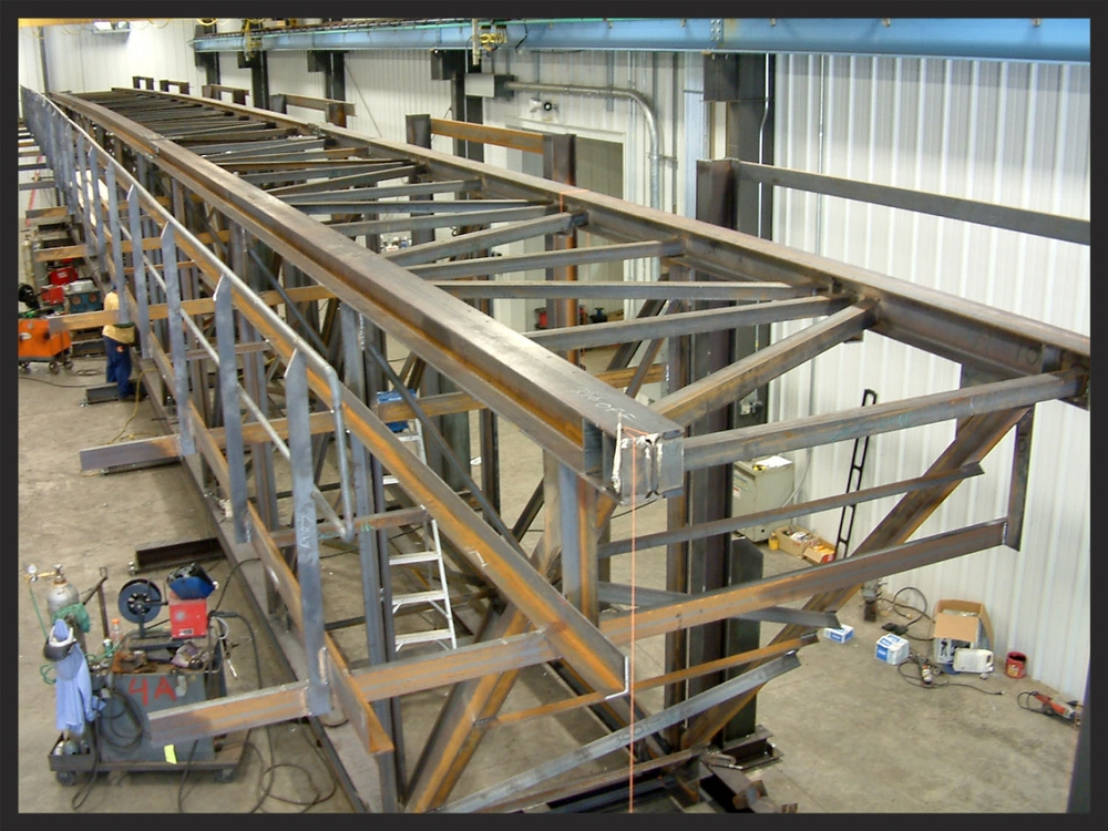 Conveyor Truss Section
