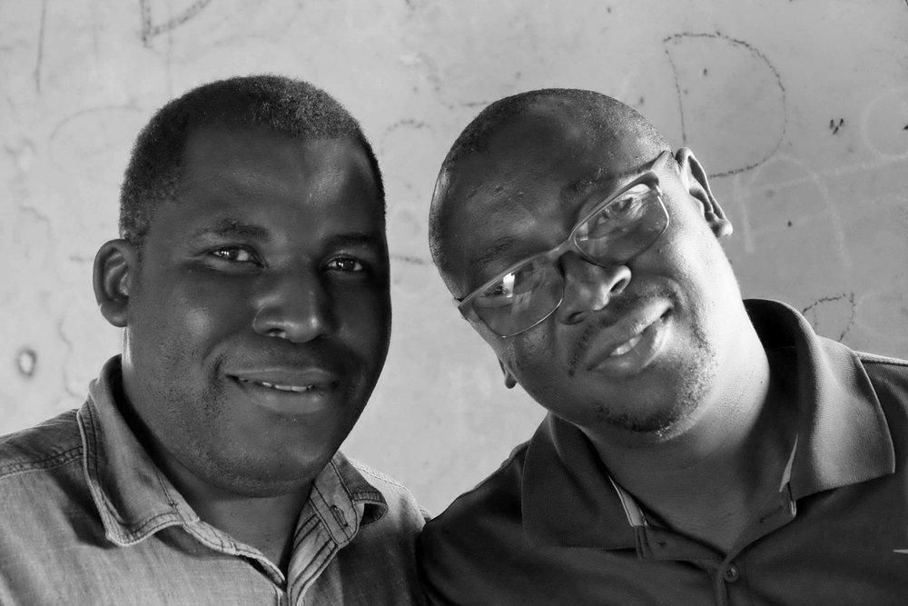 Pastor Imasiku and Percy Muleba