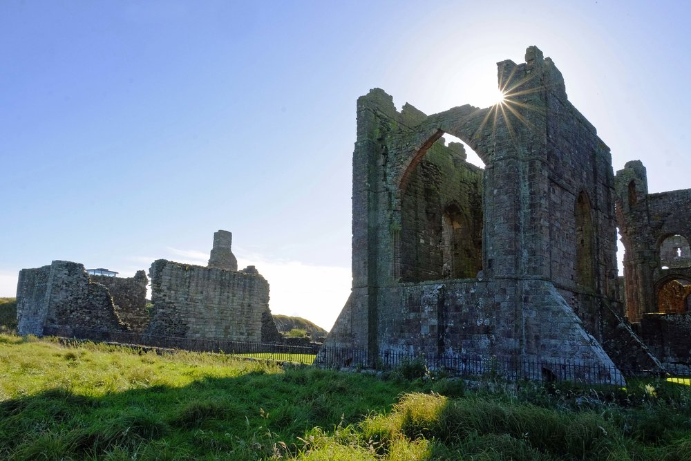 lindisfarne priory (11th century)