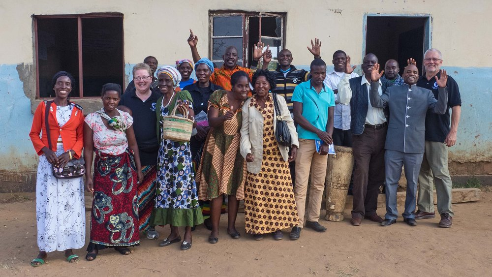 leaders from two assemblies of god churches gathered for training in musokotwane, zambia.