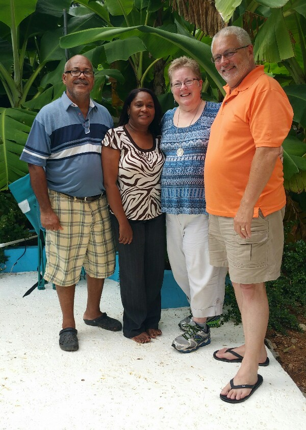 Pastor Julio and his wife, Maritza, were delightful!