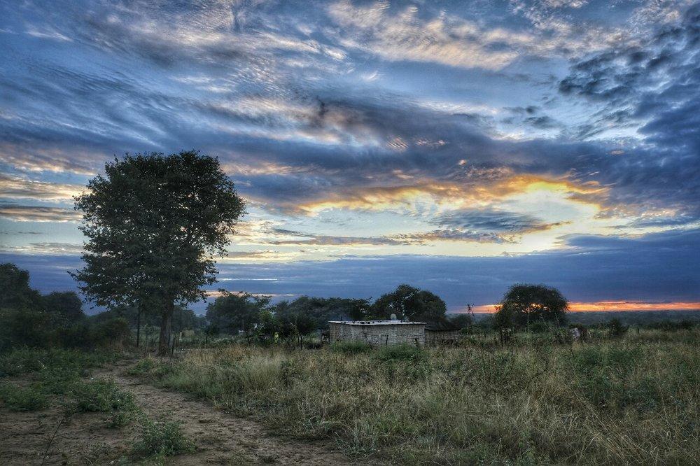 Sunrises were beautiful each morning.