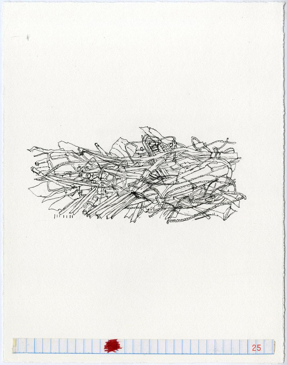 organized pile