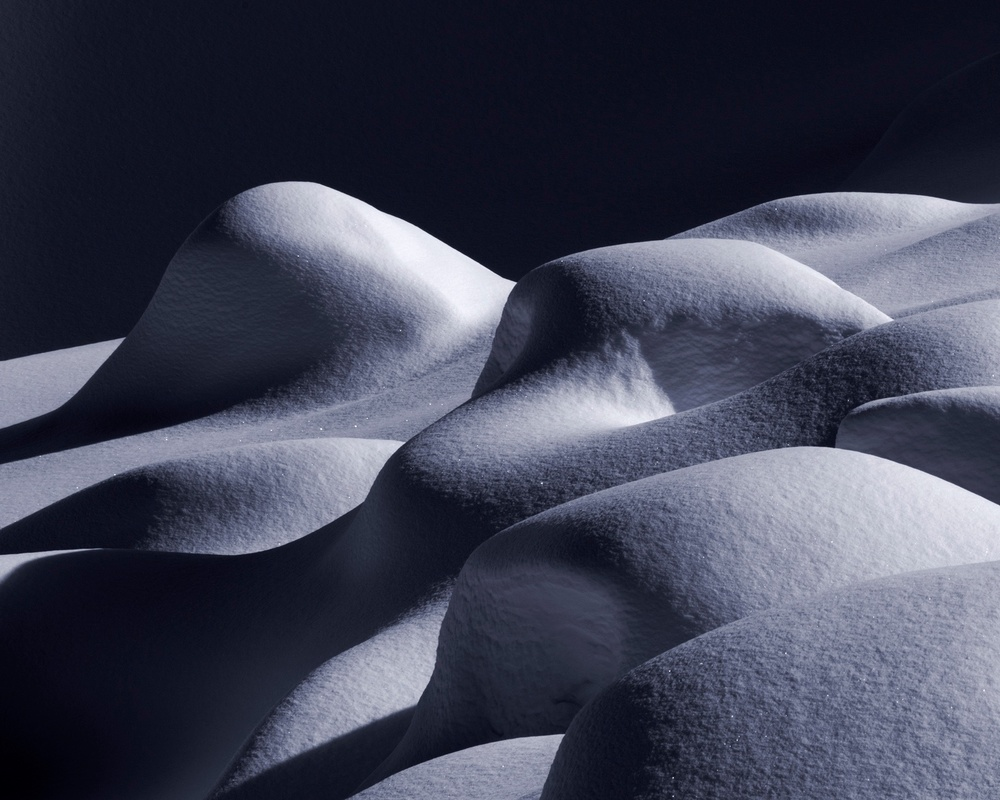Sensuous Snow I, 22.5 x 18%22, Courchevel, 2014.jpg