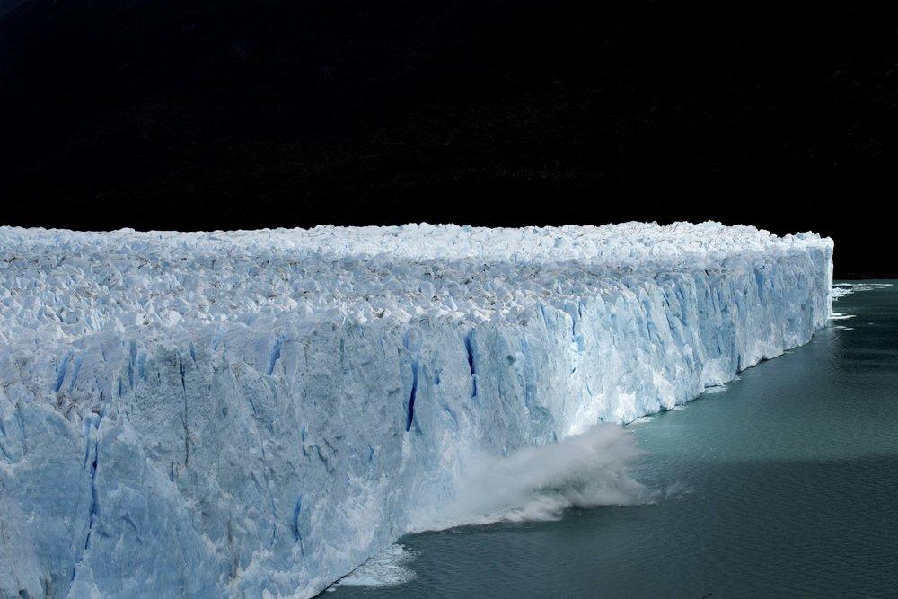 Calving Glacier, Patagonia, 2016