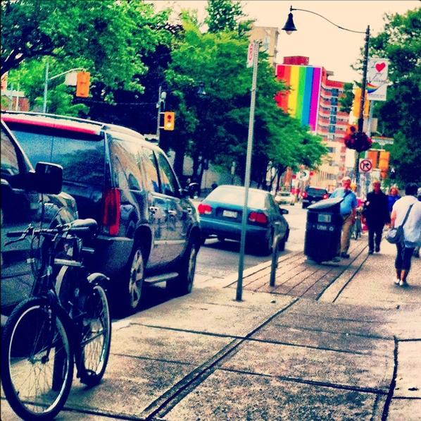 Pride in the city, Photo by  Aviva