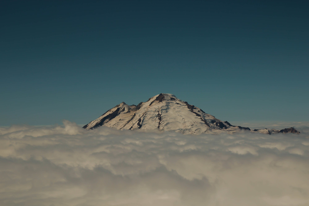 Mount Baker in all her glory