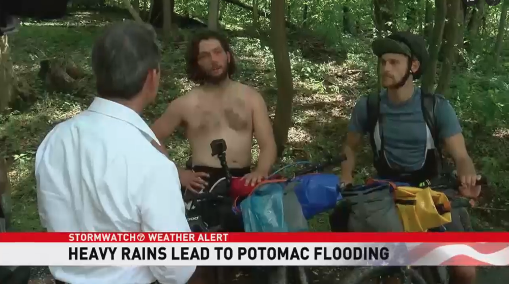 WATCH CLIP HERE: - http://wjla.com/news/local/heavy-rains-past-week-potomac-river-flooding