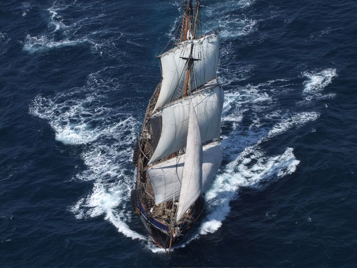 Tall ship used to make Pirate movie in Puerto Rico. Blue Water Maritime assisted.