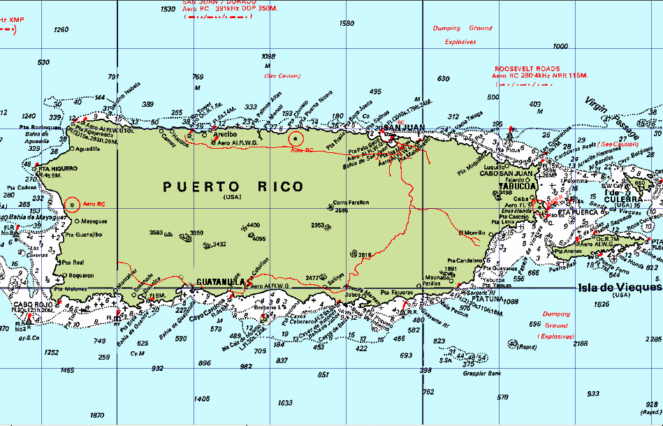 The three Puerto Rico ports we recommend for bunkering. San Juan, Yabucoa and Guayanilla.