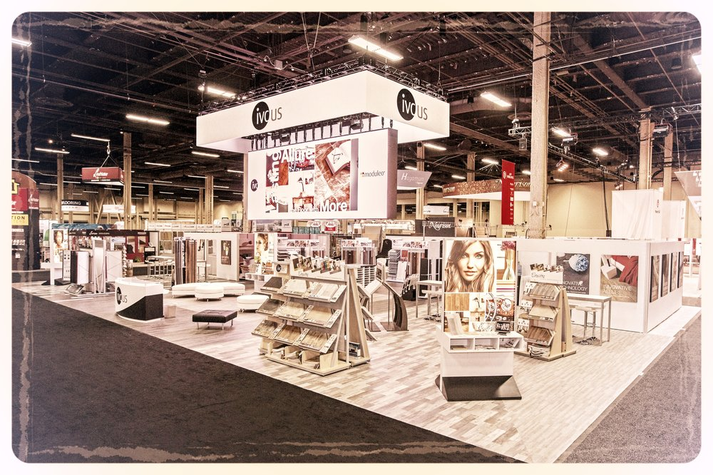 IVC US's Trade Show Exhibit at the 2016 Surfaces Conference in Las Vegas, NV.
