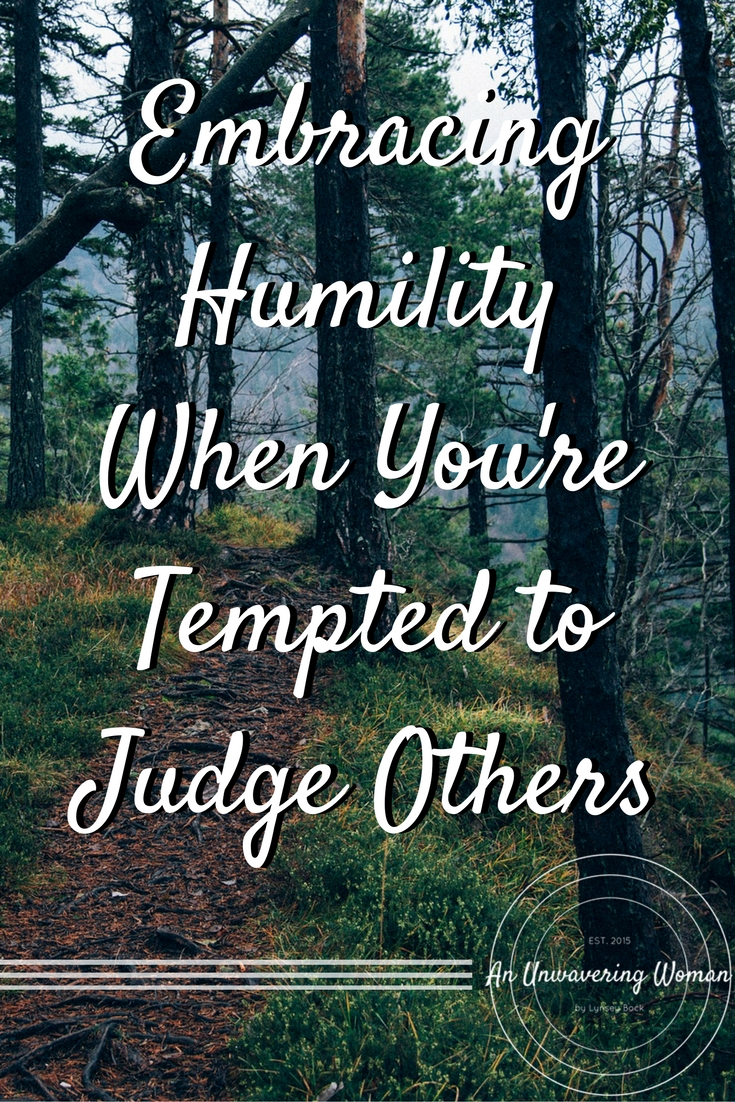 Embracing Humility