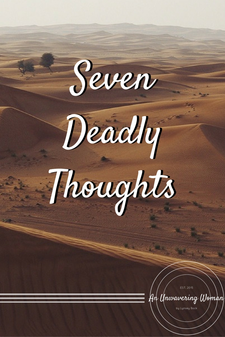 Seven Deadly Thoughts