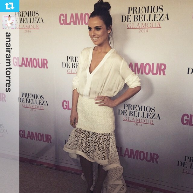 Beautiful Mariana Torres wearing Ezkarren jewelry 😍 👏 #latergram #Repost from @anairamtorres with @repostapp ----