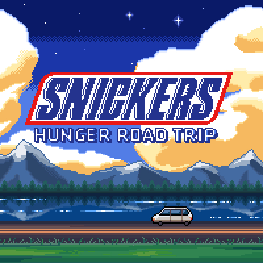 Snickers hungry road trip -