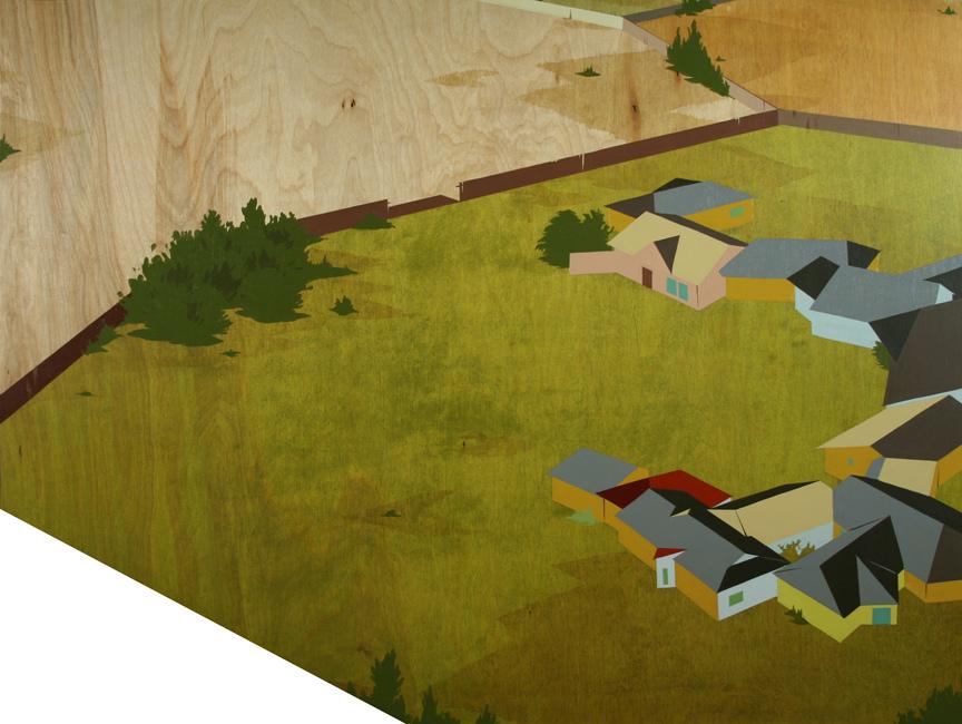 Chris Ballantyne   Add On  acrylic on panel 24 x 32 inches