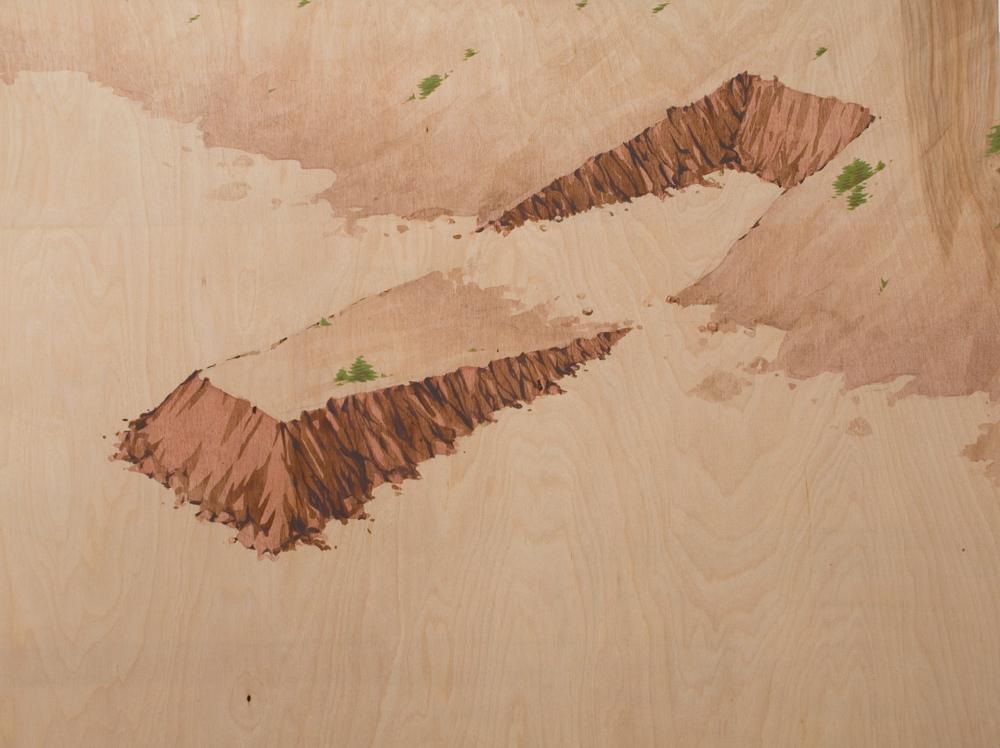 Chris Ballantyne   Shift  acrylic on panel 24 x 32 inches