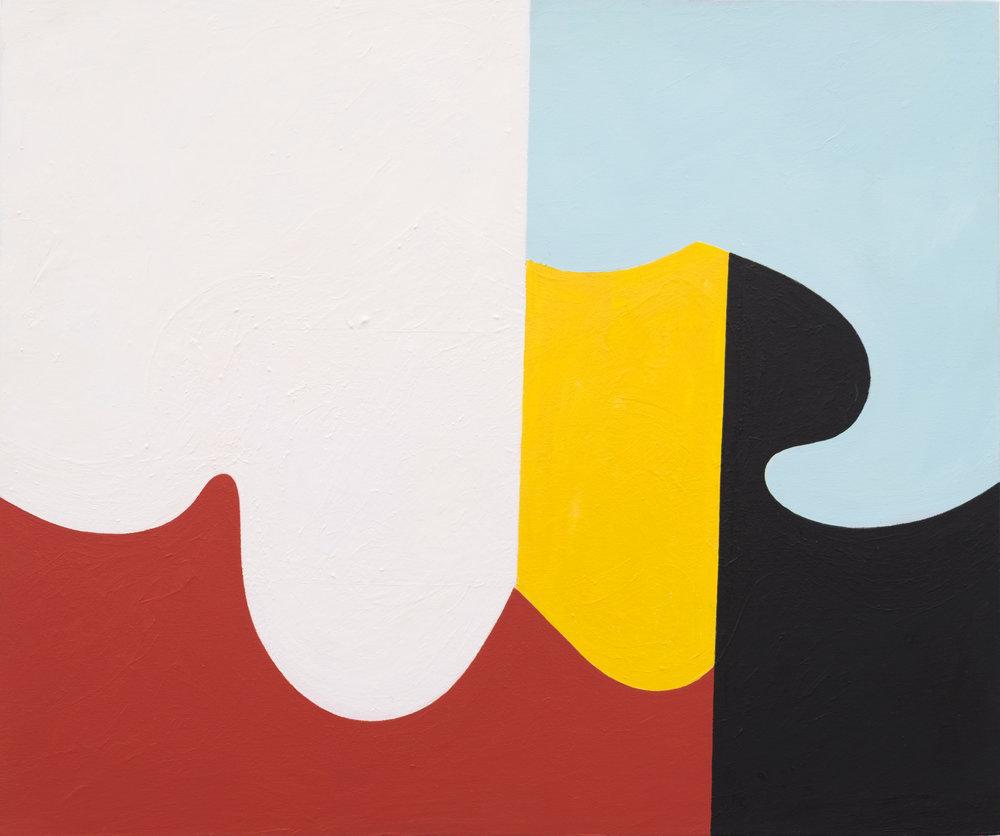 Andrew Masullo   6034 , 2014-2015  oil on canvas  20 x 24 in.