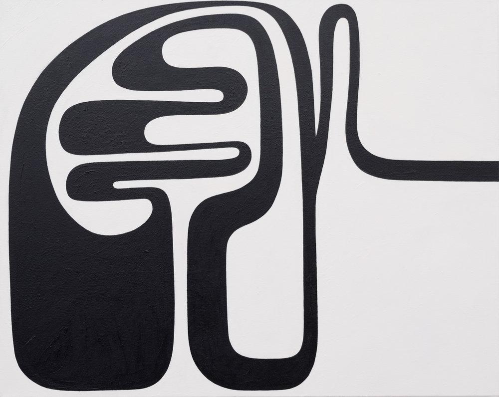 Andrew Masullo   5949 , 2013-2014  oil on canvas  24 x 30 in.