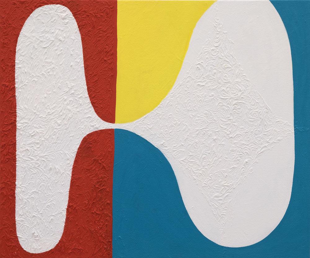 Andrew Masullo   6053 , 2014-2016  oil on canvas  20 x 24 in.