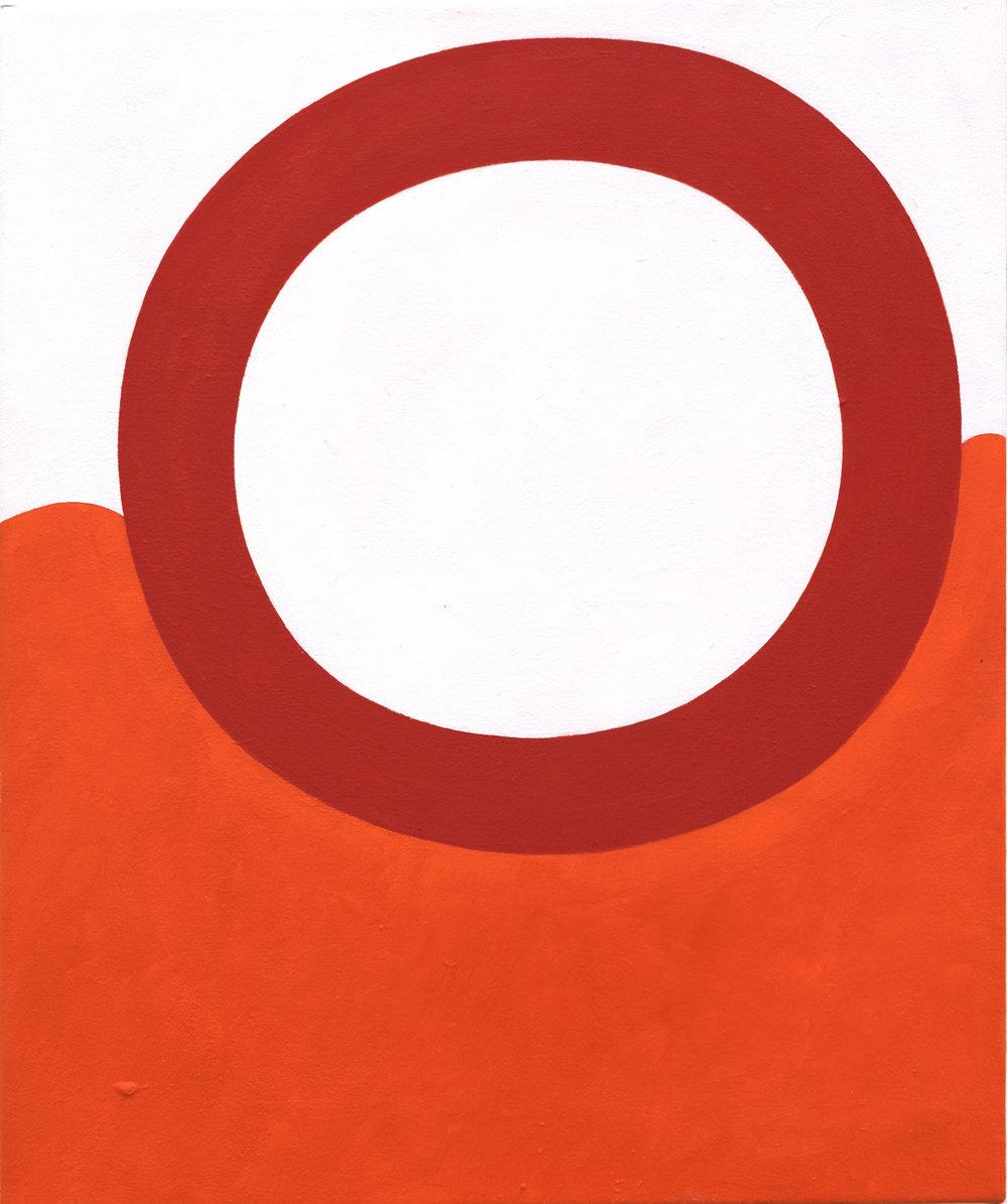 Andrew Masullo   5971 , 2014-2015  oil on canvas  24 x 20 in.
