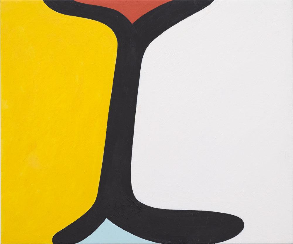 Andrew Masullo   6027 , 2014  oil on canvas  20 x 24 in.