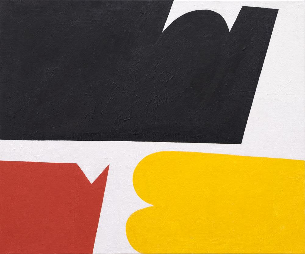Andrew Masullo   5797 , 2013-2015  oil on canvas  20 x 24 in.