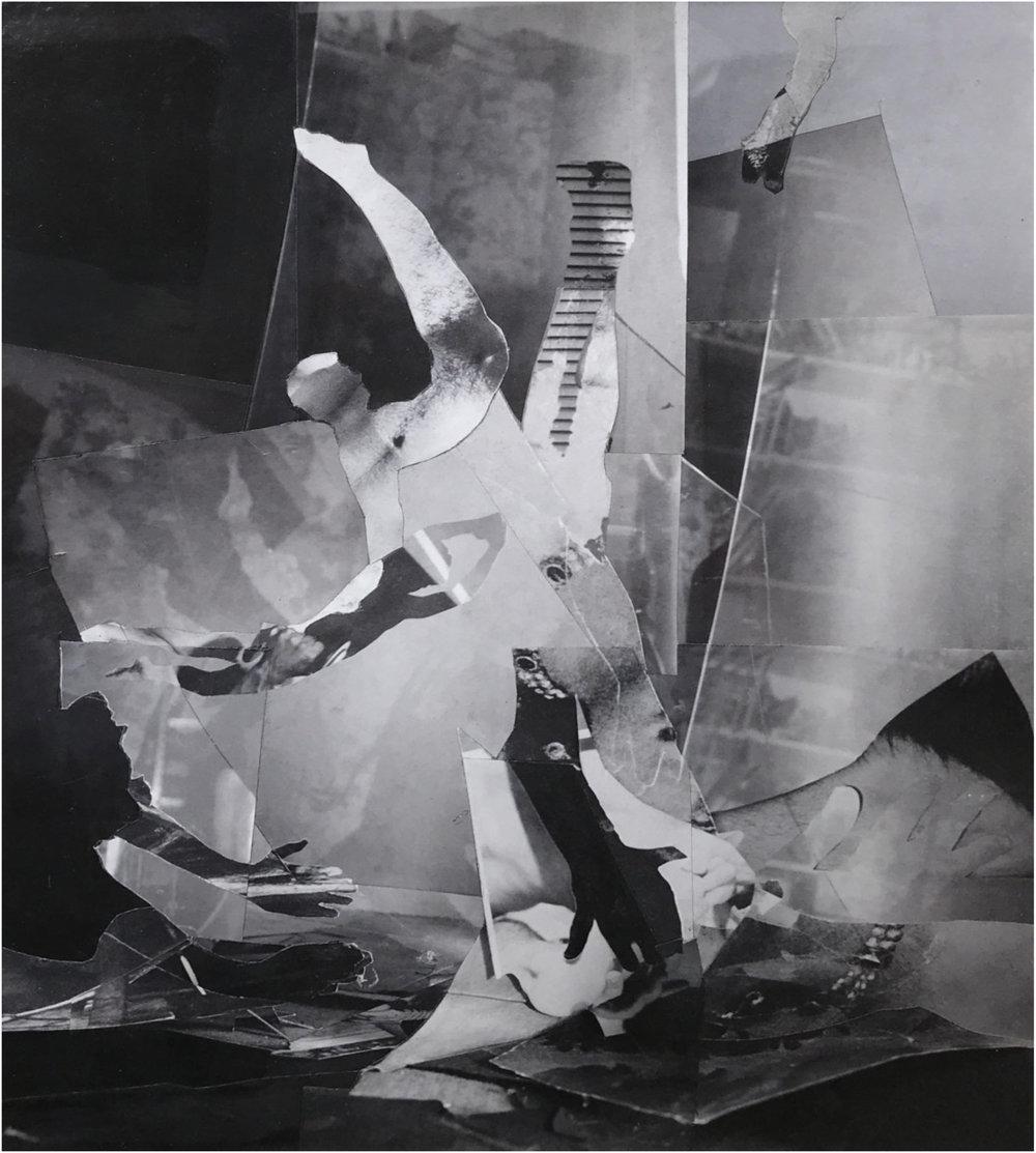 John O'Reilly   12/7/01 , 2001  polaroid montage  9.60h x 7.50w in