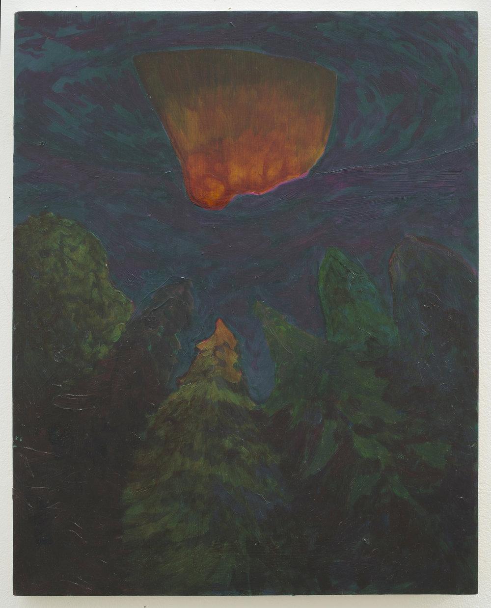 Alex Jackson rri al, 2015 oil on panel 18h x 14w in