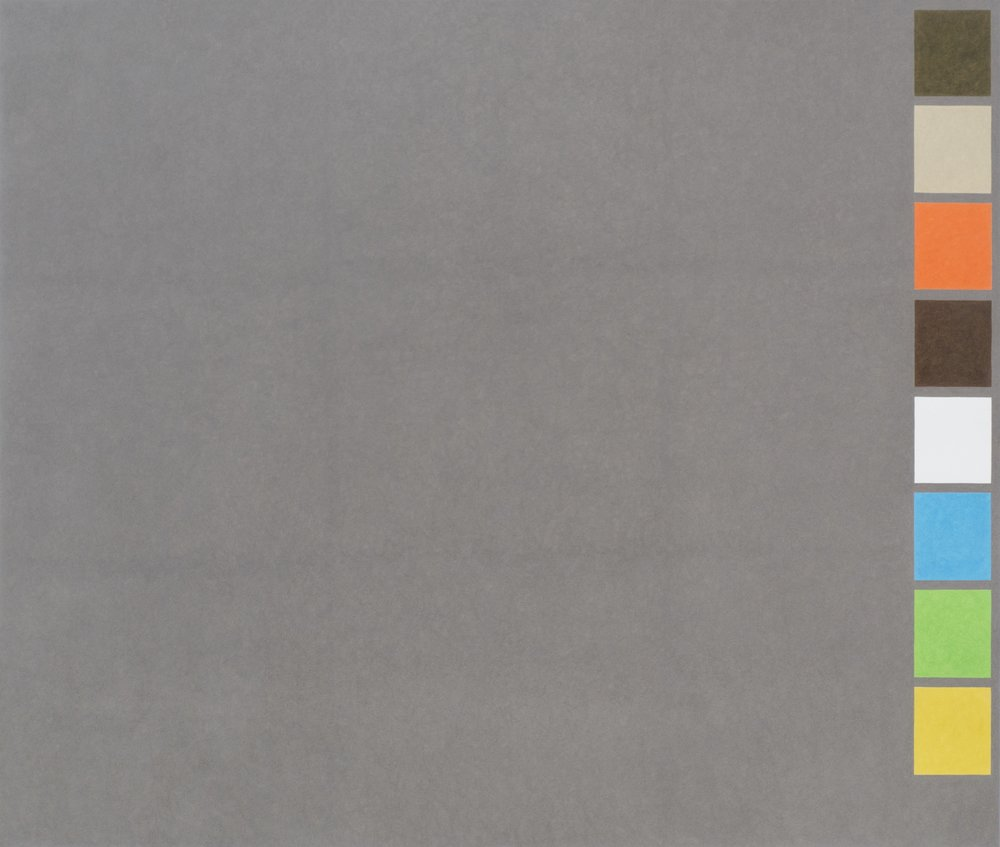 David X. Levine  LHOONE , 2016  colored pencil on paper 44h x 52w in