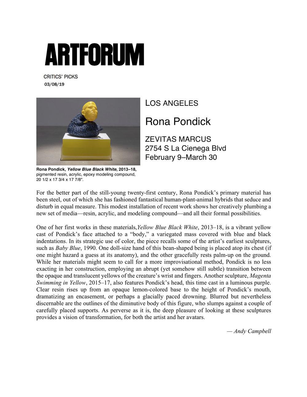 Pondick_Art Forum_Critic's Picks.jpg