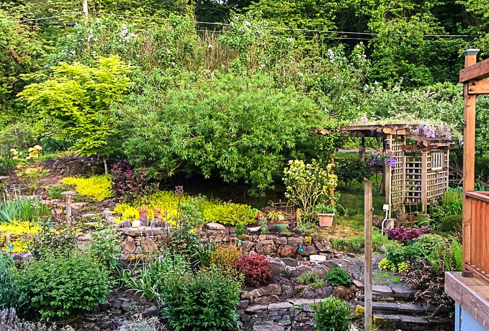 The West Garden Spring 2017