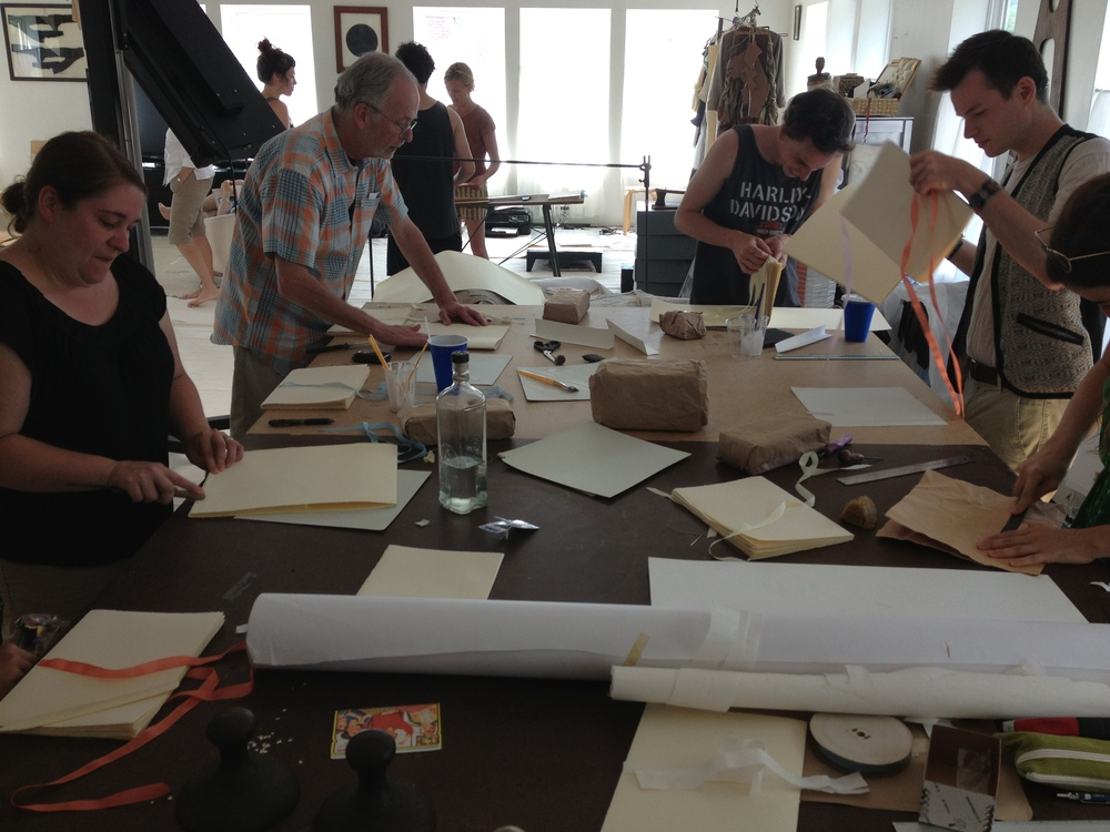 Mildred's Lane _ Salt & Cedar bookbinding workshops 2014.JPG