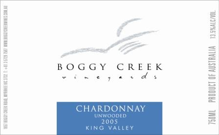 Boggy Creek Chardonnay
