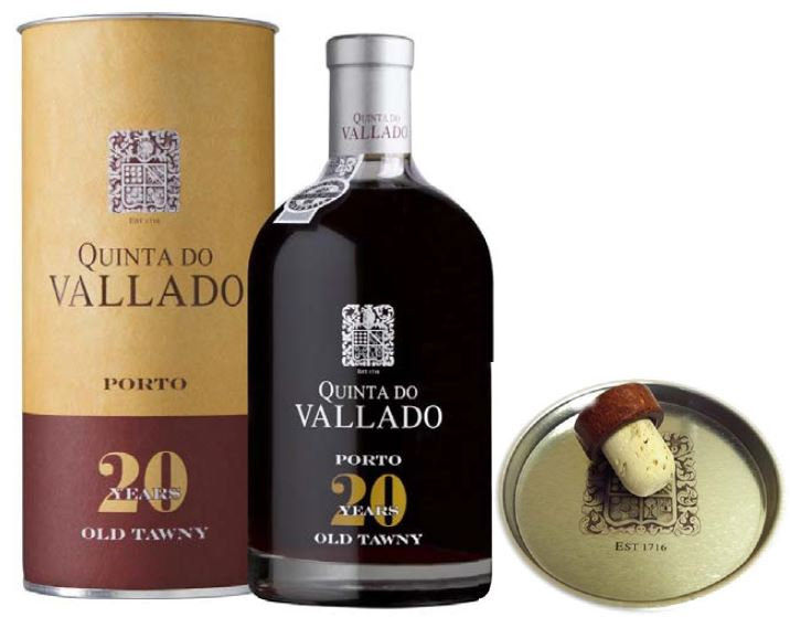 Quinta Do Vallado Tawny 20 Year - with cork