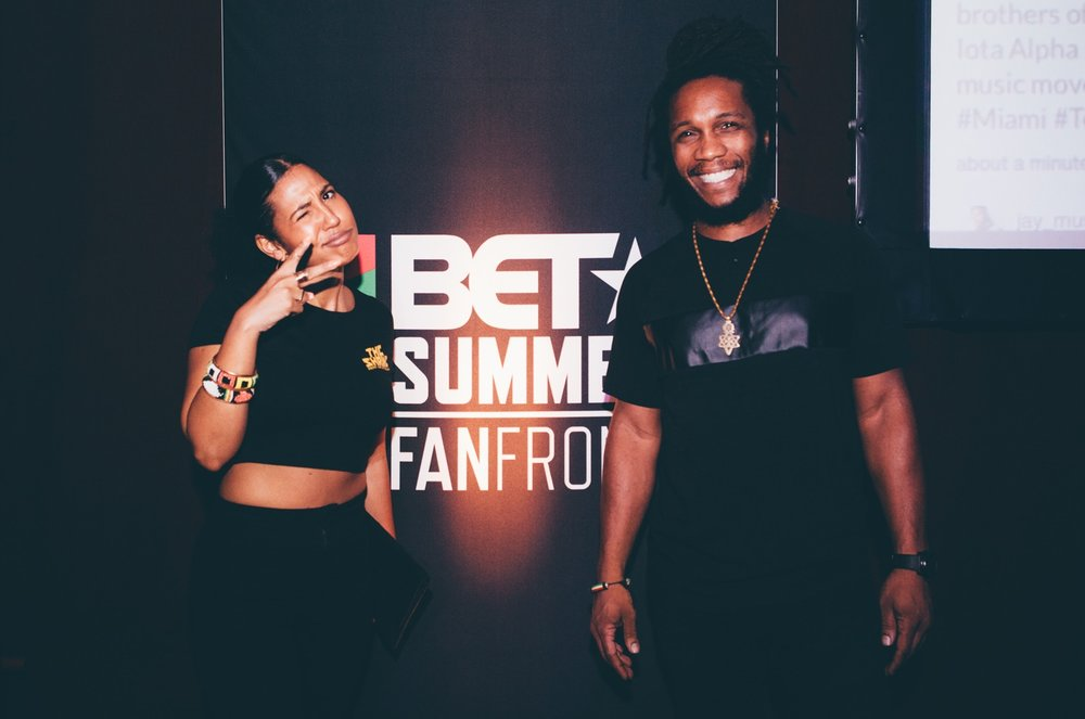 The Shrine partnered with BET & Everyday PPL NYC to promote BET's FanFront event at the Fillmore on South Beach.