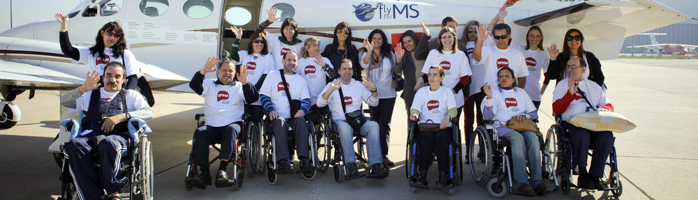 They will travel 20,000 miles in a small airplane.   TO GIVE WINGS TO THOSE WHO CANNOT WALK