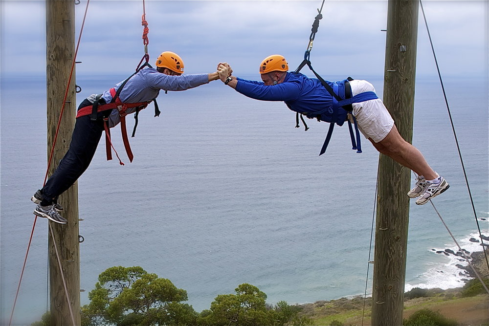 Gindling Hilltop ropes course Partnership Vines Malibu.jpg