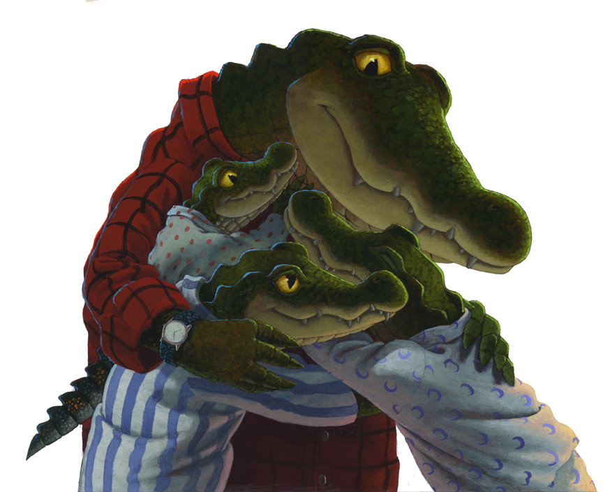 """One last squeeze,"" from GATOR DAD (2016)"