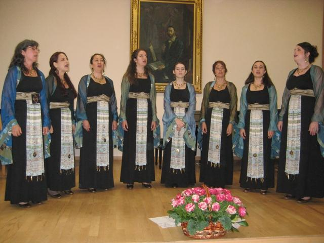 Kitka at the Komitas Conservatory, Yerevan, Armenia, 2010